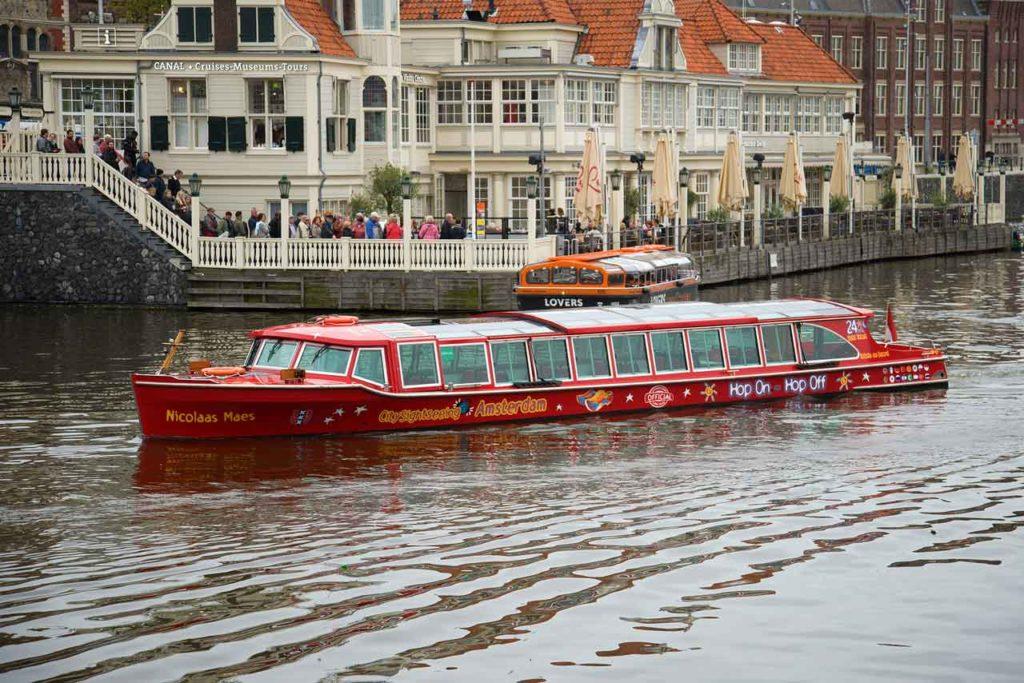 Hop-on Hop-Off Grachtenfahrt Amsterdam