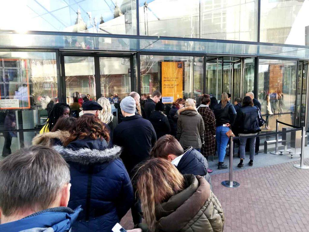 Wartezeiten in Amsterdam