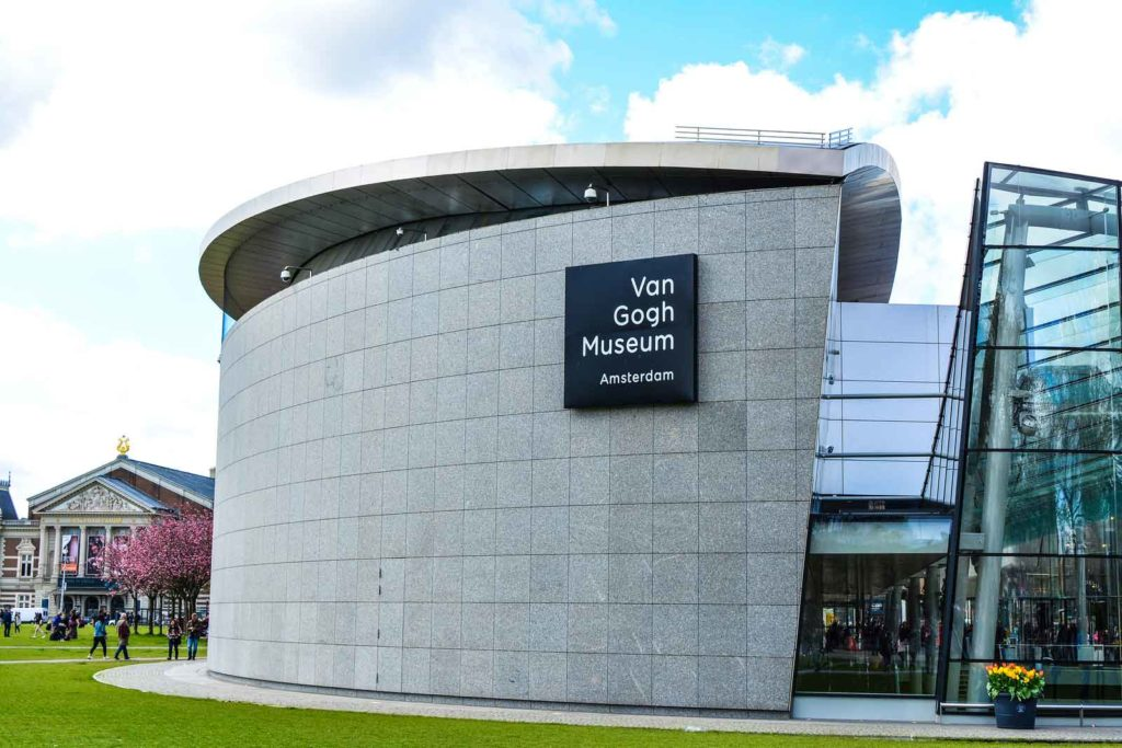 Schöne Van Gogh Museum in Amsterdam