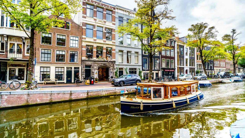 Jordaan Viertel in Amsterdam