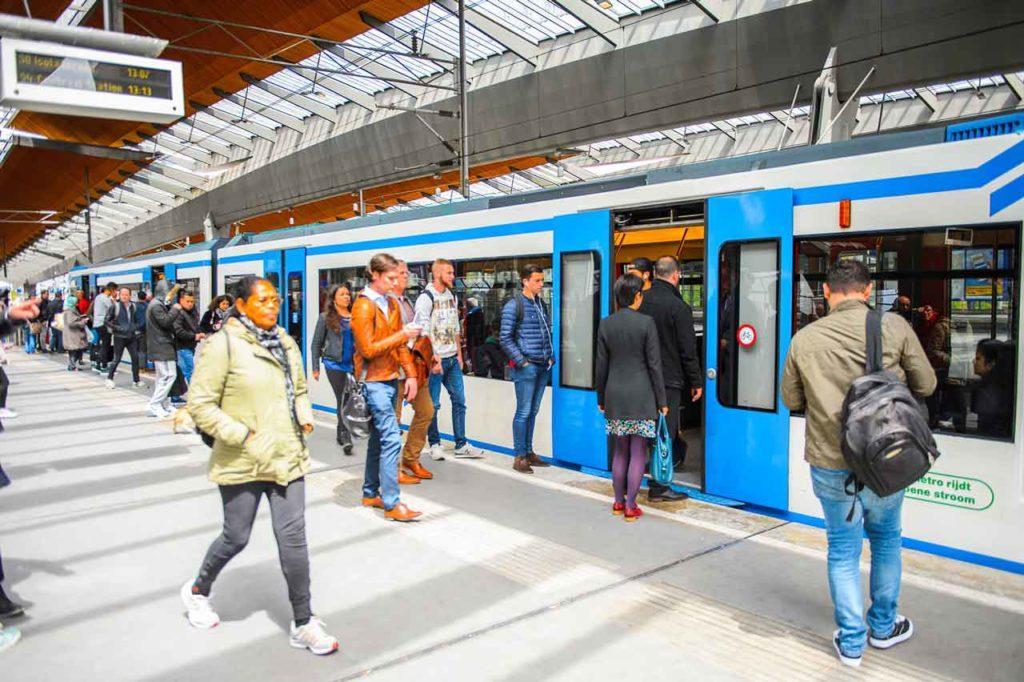 Öffentlicher Nahverkehr in Amsterdam
