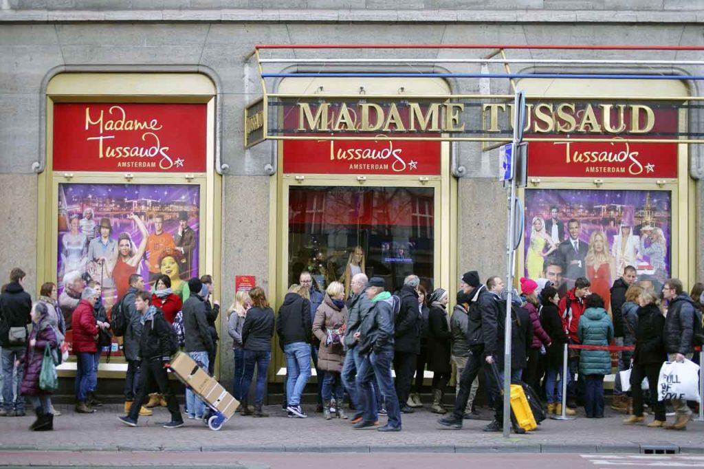 Madame Tussauds Amsterdam besichtigen