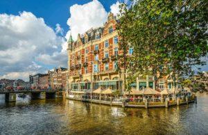 Amsterdam in Frühling