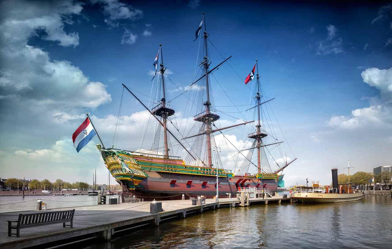 Schifffahrtsmuseum in Amsterdam - Eintritt, Öffnungszeiten & Infos